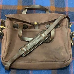 Perfectly Worn Filson Briefcase/Satchel